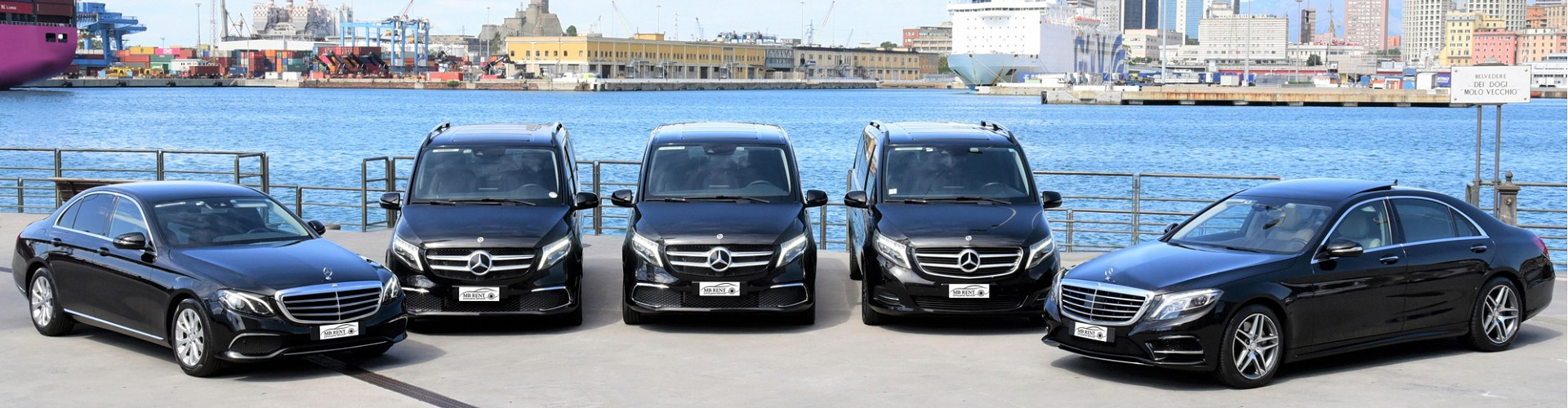 Limousine Service Genoa | Car Rental with Driver Genoa | Limousine Service Portofino | Chauffeur Service Milan