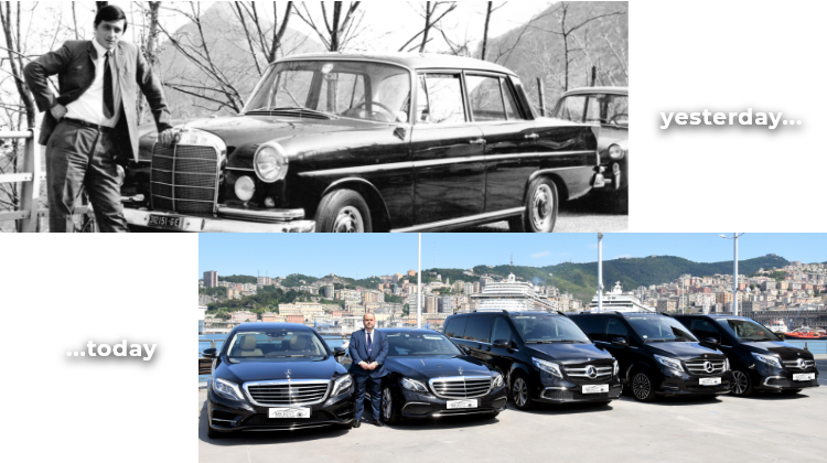 MB Rent Limousine Service in Genoa